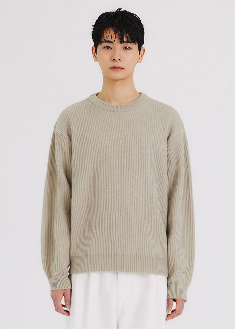 SOFT FISHERMAN KNIT [GREEN]