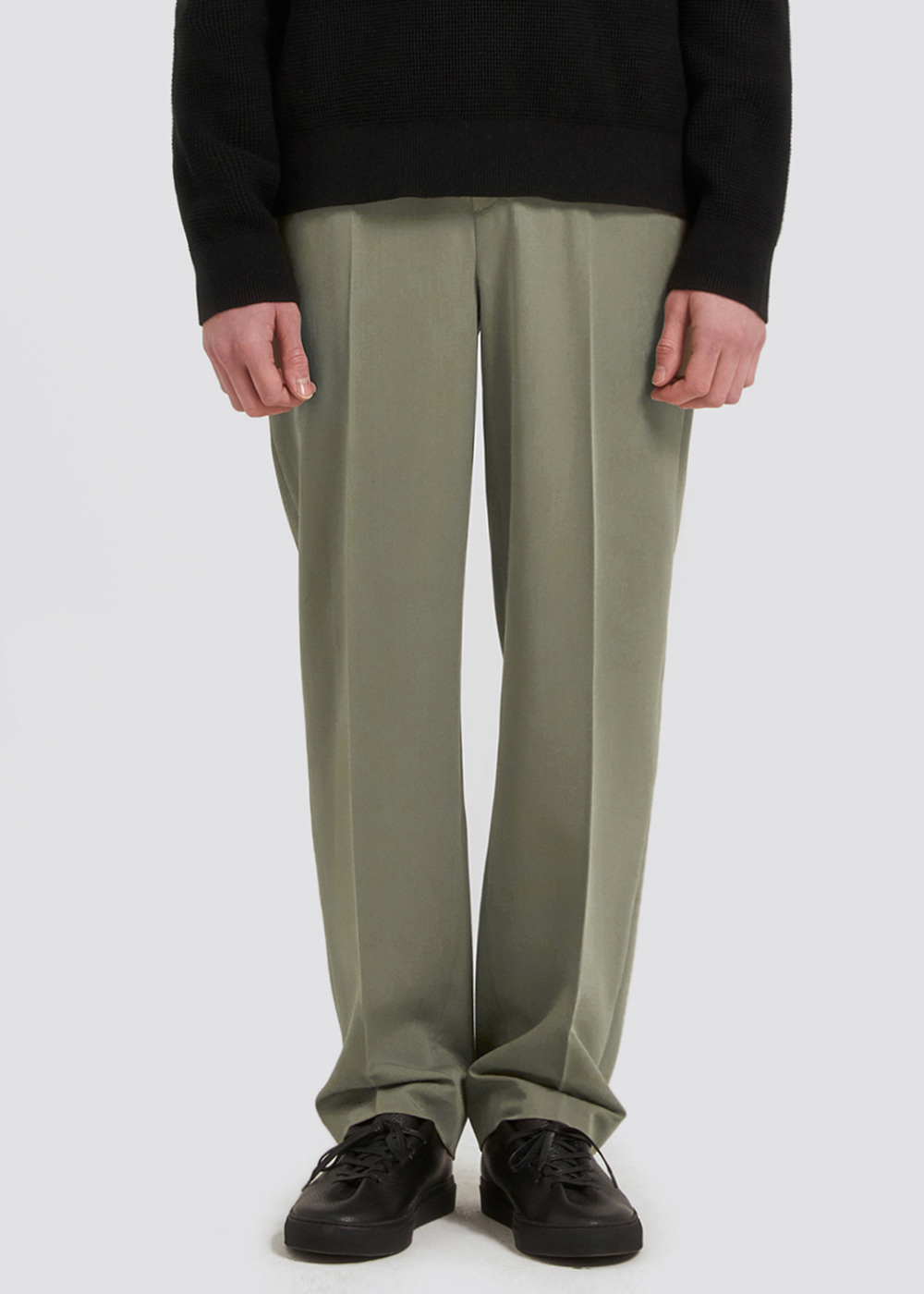 WIDE SLACKS [KHAKI]