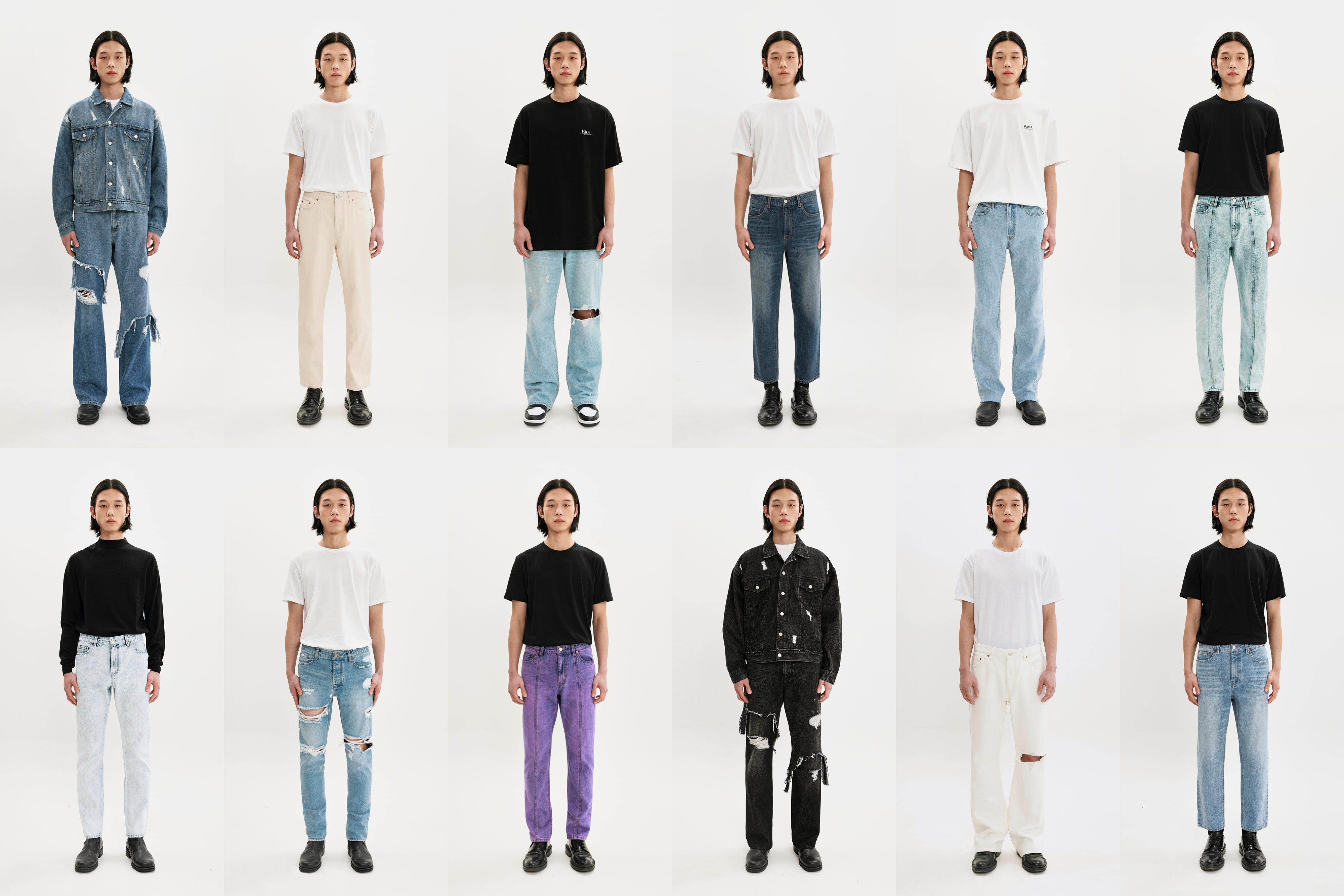 Parts 20SS Denim Collection