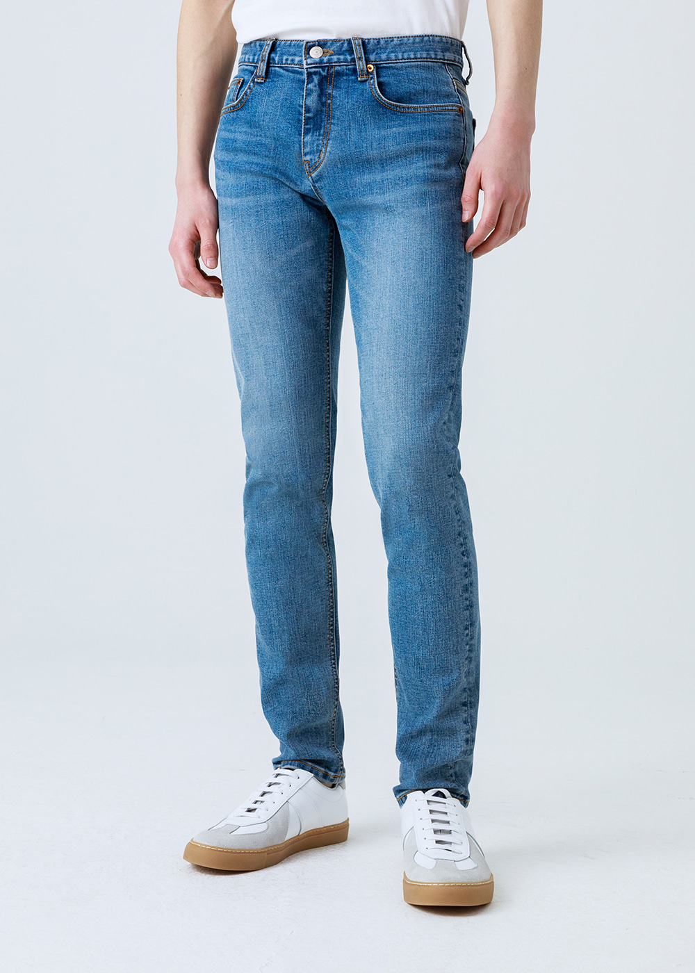 SLIM JEANS IA [LIGHT BLUE]