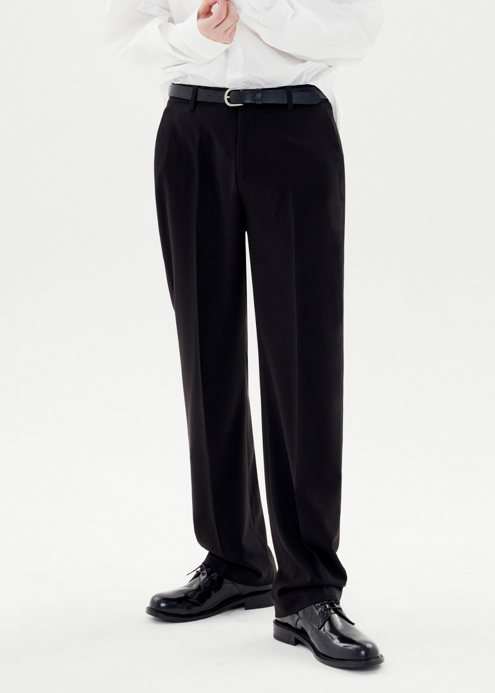 WIDE SLACKS [BLACK]